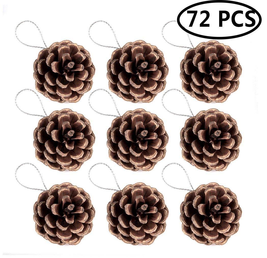Funpa Pine Cone Ornaments